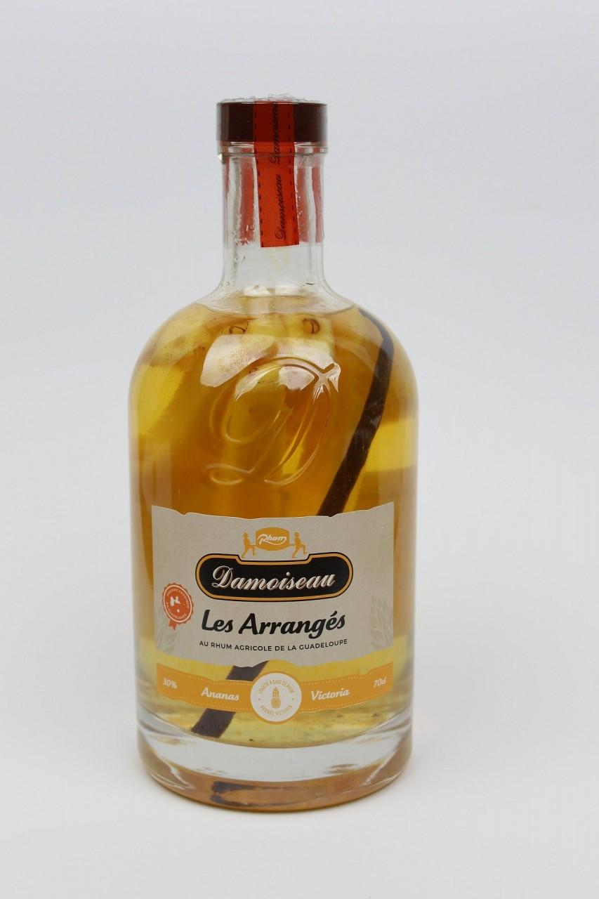 Damoiseau Rhum Arrengés Ananas Victoria