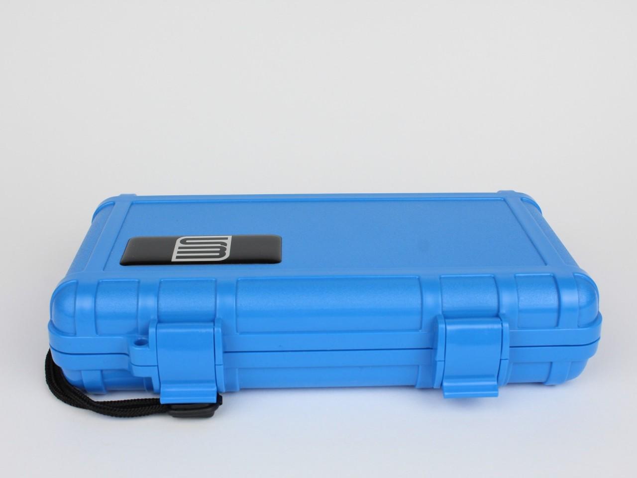 Cigar Case S3 blau (5 Cigarren)