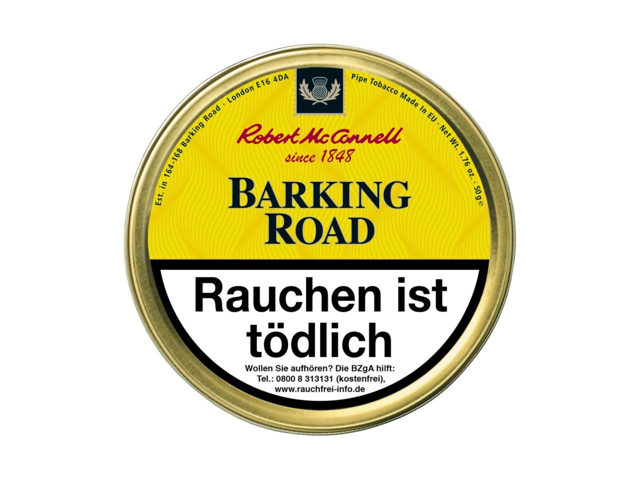 Robert McConnell Barking Road