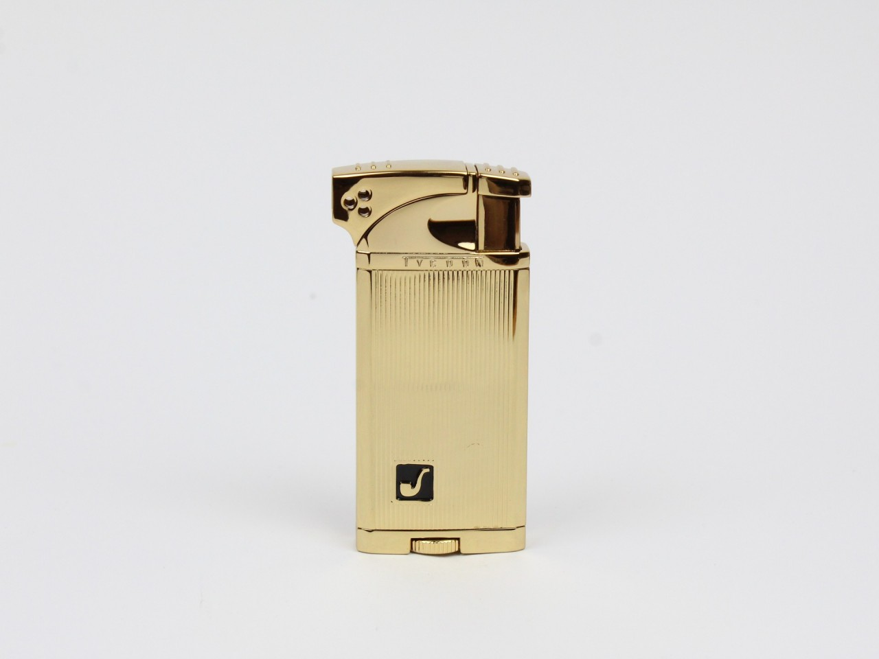 Tycoon Pfeifenfeuerzeug gold