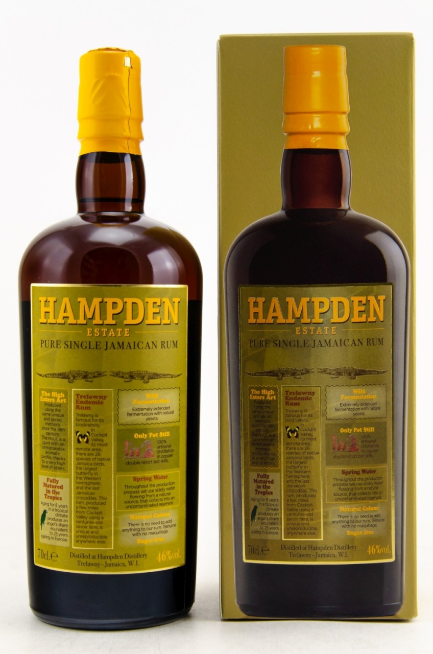 Hampden Estate Pure Single Jamaican Rum